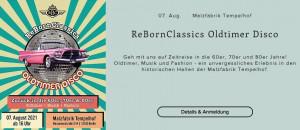 Oldtimer Disco in Tempelhof @ ReBornClassics Oldtimer Disco